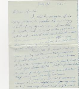 Letter from Floyd pg 1