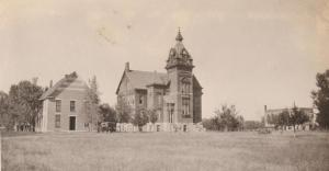 NCC girls dorm and old main