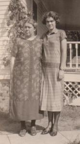 Ruth and her mother, Bertha Benton