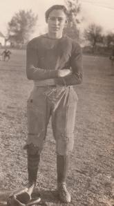 John's football career was short-lived.