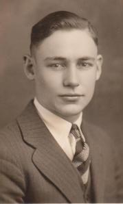 John's senior college photo