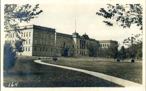 I found this photo on the web of Kearney Normal School administration building
