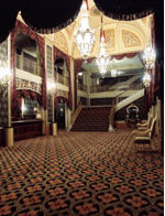I found this photo of the Orpheum lobby.  The theater has been restored and is still open.