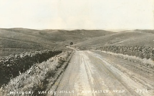 NE hills
