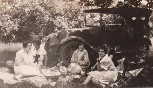 Picnics are mentioned often in the letters