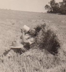 Ralph in field